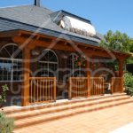 Pergomadera, pérgolas y porches