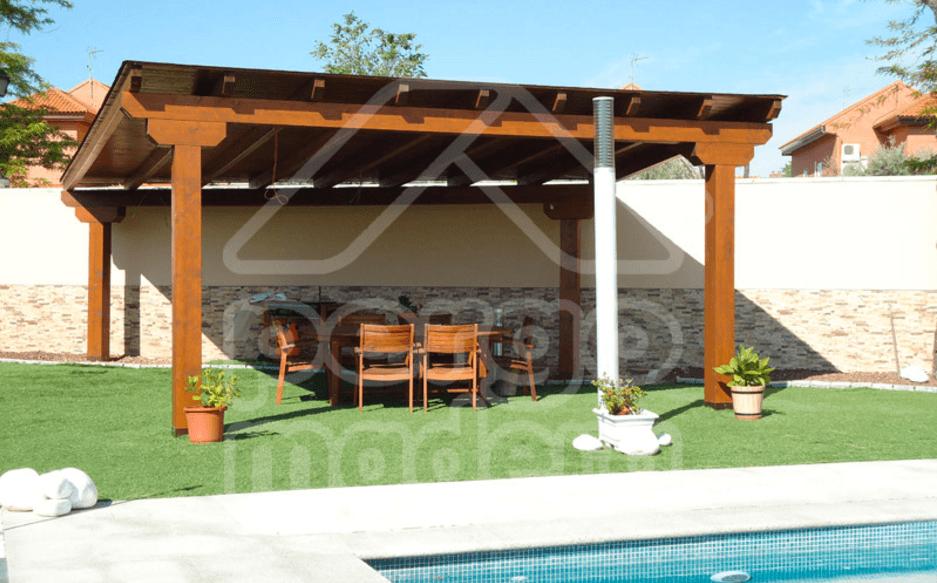 Pergomadera p rgolas y porches de madera en madrid - Pergolas y porches ...