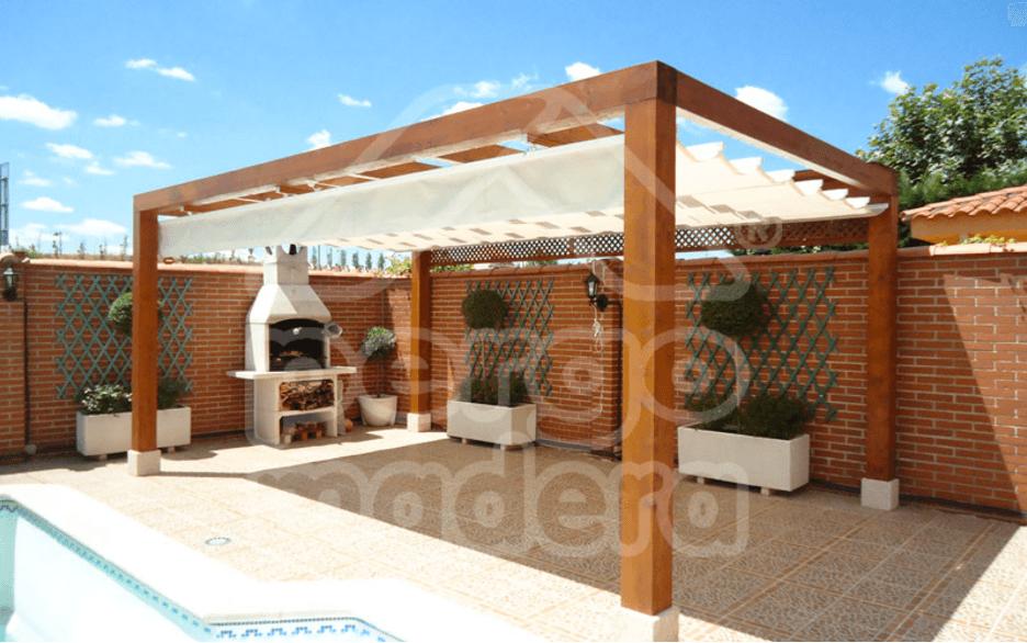 Pergomadera p rgolas y porches de madera en madrid - Pergolas de madera valencia ...