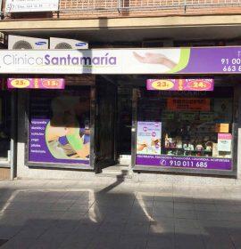 Clínica y herbolario Santamaría, centro de fisioterapia en Móstoles